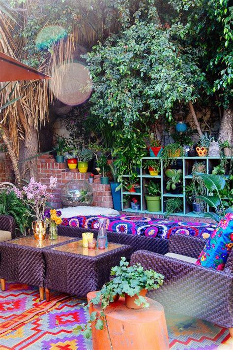 beauty bohemian patio designs top easy decor project  backyard garden easy idea