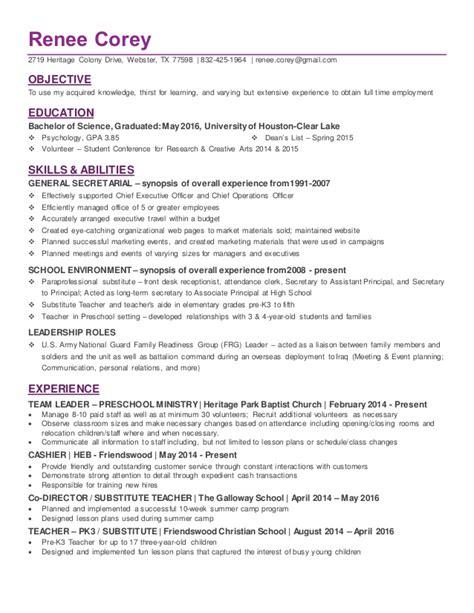 Psychology Resume Template by Psychology Graduate Resume Bijeefopijburg Nl
