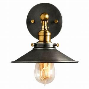 Lampe Murale Industrielle : applique murale industrielle noire en m tal lampe vintage cult uk ~ Teatrodelosmanantiales.com Idées de Décoration