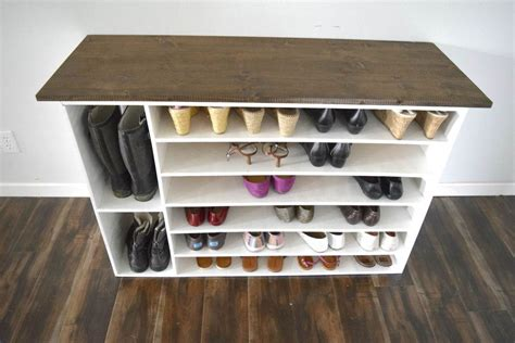 Shoes Organizers : How To Make A Diy Shoe Organizer And Rack For The Closet