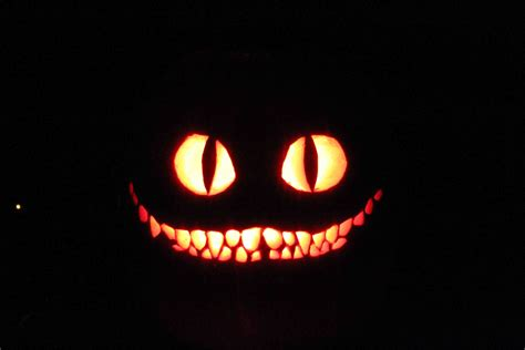 Cheshire Cat Pumpkin Carving Patterns The Cheshire Cat