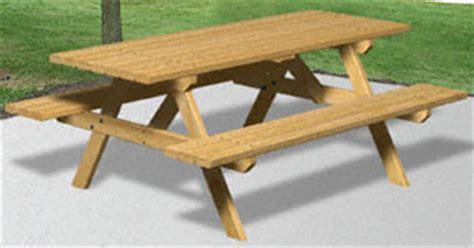 plan  picnic table