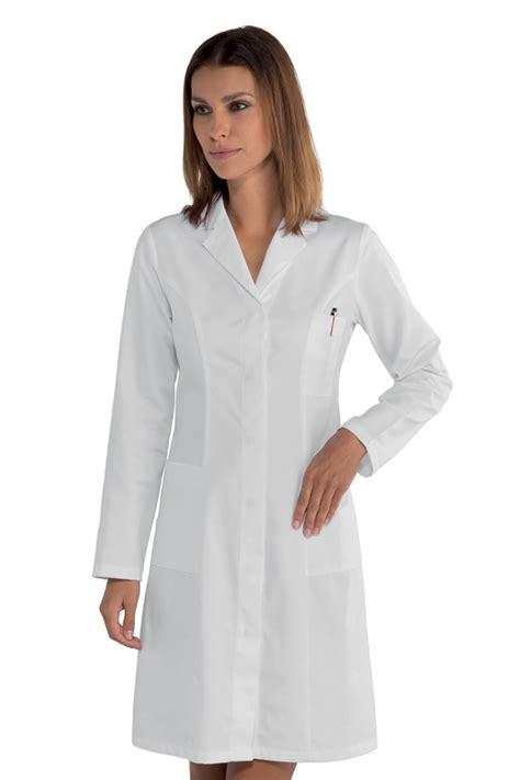 blouse de cuisine pas cher blouse blanche médicale coupe cintrée princesse 100 coton