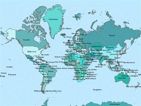 Carte Des Pays Du Monde by Cartes Du Monde