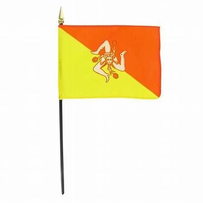 Flag Sicilian Tattoo Tattoos Sicily Designs Clip