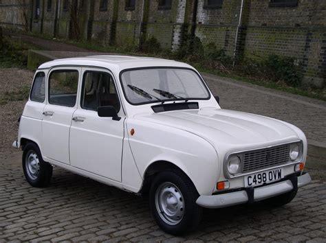 renault white classic chrome renault 4 gtl 1986 c white