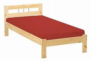 Ikea Lit 90x190 : lit une personne en bois ~ Teatrodelosmanantiales.com Idées de Décoration