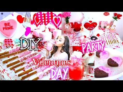 DIY Valentines Day Party! DIY Treats,Decorations+More ...