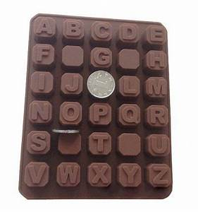 26 letters silicone baking cake mold candle mold bakeware With letter molds for baking