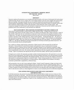 self evaluation 13 free sample example format free With self performance appraisal sample letter