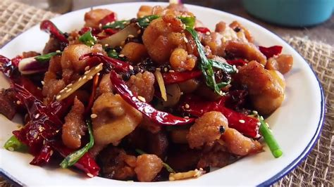easy chinese recipe sichuan spicy chicken szechuan