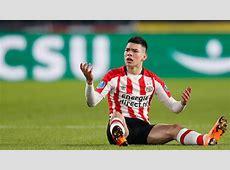 Hirving Lozano vuelve a ser expulsado ante el Heerenveen