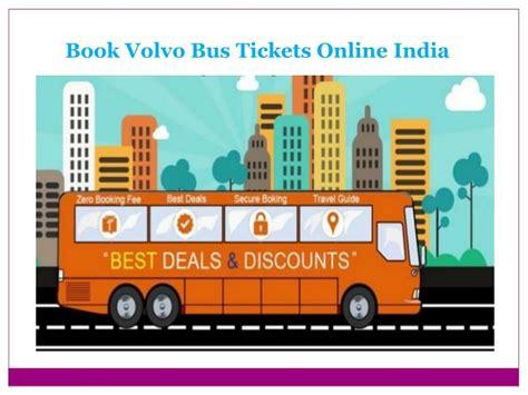book volvo bus   india runbus