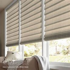 Good Housekeeping Hobbled Roman Shades  Room Decorhouse