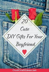 20 Cute Diy Gifts For Your Boyfriend Cool Craft Ideas