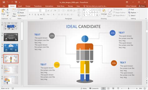 hr ppt templates free animated hr powerpoint template