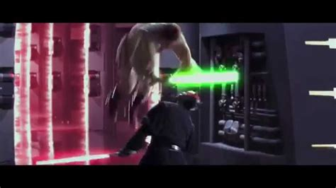 star wars darth maul lightsaber duel extended hd youtube