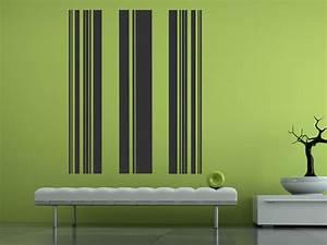 Streifen An Die Wand Malen Beispiele : wandbanner streifen wandtattoo gestreift ~ Markanthonyermac.com Haus und Dekorationen
