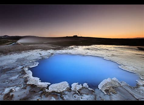 blue pool hveravellir iceland finally