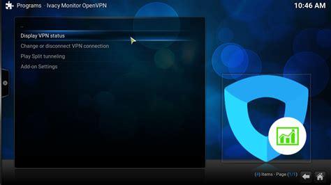 how to setup ivacy vpn for openelec on kodi