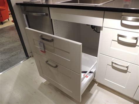 ikea kitchen drawers how ikea trash bin cabinets affect your kitchen design