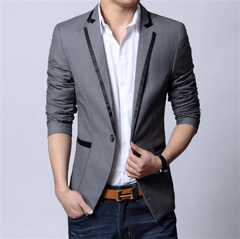 mens fashion groom suits slim fit blazer onesimplegowncom