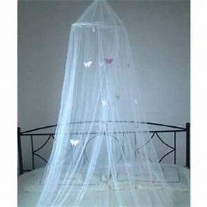 Voile De Lit : moustiquaire voile anti moustiques voile decoration blanc avec des papillons roses amazon ~ Teatrodelosmanantiales.com Idées de Décoration