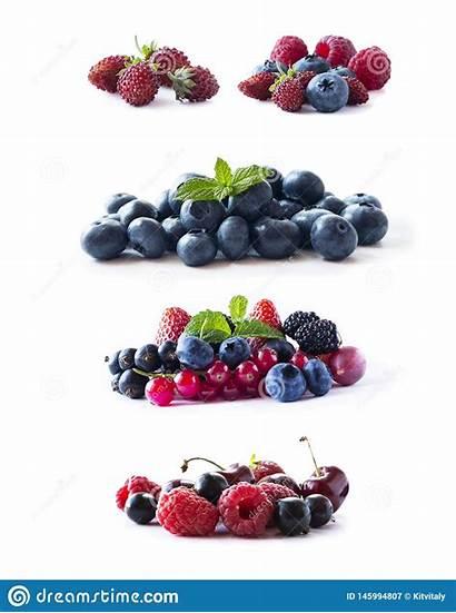 Blueberries Blackberries Raspberries Mix Currants Blackcurrants Ripe