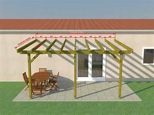 Construire Une Pergola En Bois : plan de pergola en bois gratuit atelier retouche paris ~ Premium-room.com Idées de Décoration