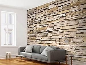 Steinwand Tapete 3d : vlies fototapete 350x245 cm steinwand top tapete wandbilder xxl wandbild bild ~ Eleganceandgraceweddings.com Haus und Dekorationen