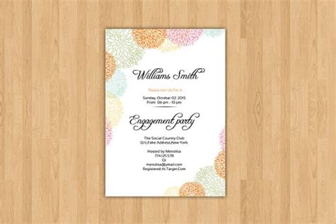 22+ Engagement Invitations Free PSD Vector EPS PNG Ai
