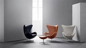 Egg Chair Arne Jacobsen : egg easy chair leather ~ A.2002-acura-tl-radio.info Haus und Dekorationen