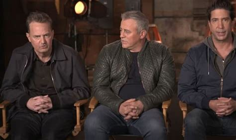 The reunion is the best cast reunion of all time. 'He just seems off' Matthew Perry's appearance in Friends ...