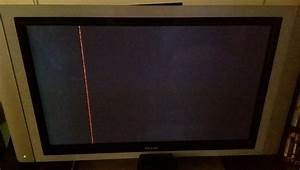 Panasonic Plasma  Tcp65st30 Vertical Red Line One Pixel