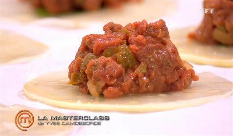 recettes cuisine tf1 masterchef recettes de cuisine comment cuisiner un steak tartare mytf1