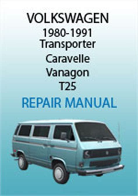 car repair manuals online free 1991 volkswagen type 2 spare parts catalogs volkswagen t25 transporter 1980 1991 workshop repair manual