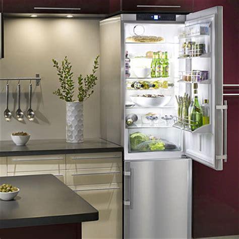 Ideas for a Small Kitchen: Liebherr refrigerator freezer