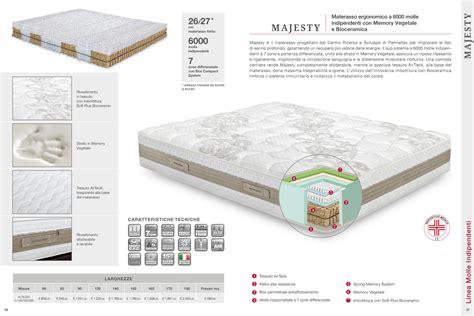 Materasso Majesty Permaflex Prezzo by Permaflex Materasso Majesty Linea Molle Indipendenti 2