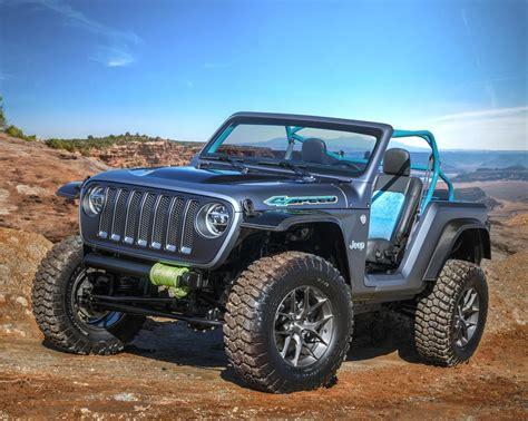 jeep safari concept 2018 moab jeep safari concept cars revealed