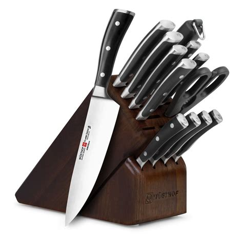 wusthof knife ikon classic block kitchen brands piece amazon sets cutlery hunting walnut brand down check recommended exclusive cutleryandmore