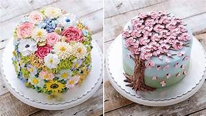 20 Beautiful Spring Inspired Floral Cake Designs - BlazePress