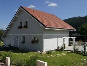 maison bois traditionnelle avec bardage canexel nos With energie d une maison 8 maison 224 ossature bois avec bardage canexel nos maisons