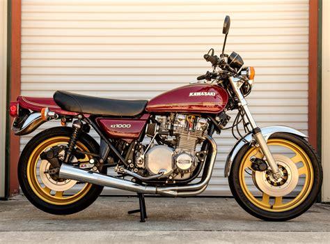 Bid on a 1977 Kawasaki KZ1000 at Riding Into History ...