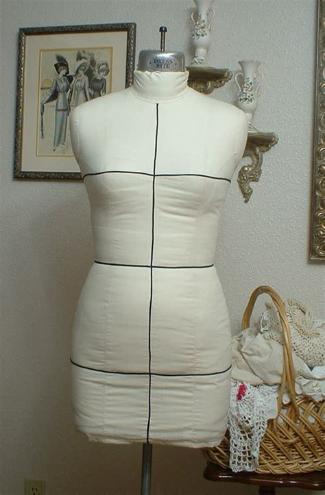 how to pad a dress form sew chic pattern company copy your figure a dressform