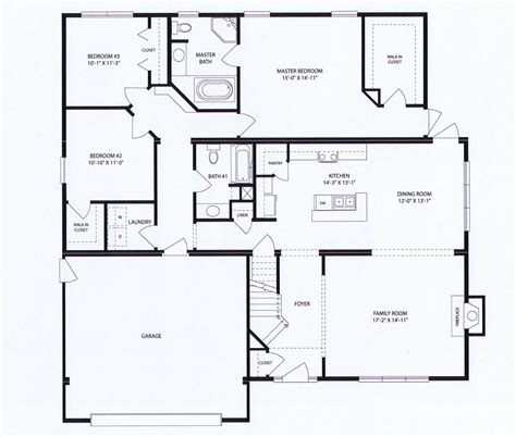 Small Restaurant Kitchen Layout Ideas - bainbridge floorplan the brady apartments