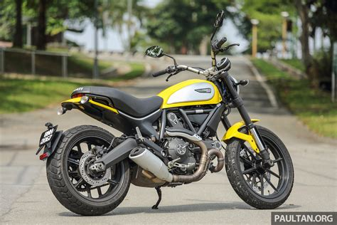 review 2016 ducati scrambler icon for hipsters image