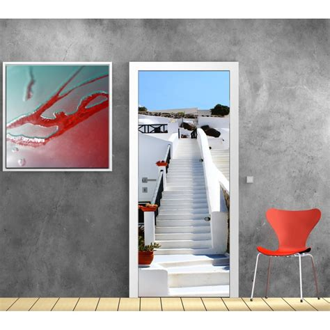 stickers porte d 233 co mont 233 e d escalier d 233 co stickers