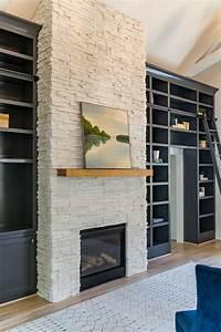 Boral, Winterhaven, White, Stone, Fireplace, Painting, By, S, Karenlane, Typepad, Com