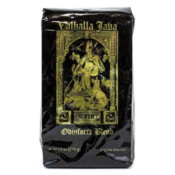The most common valhalla coffee cup material is ceramic. DWCC, USDA Certified Organic & Fair Trade Valhalla Java Ground Coffee - 12 Ounce Bag