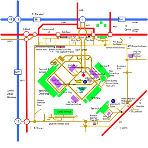 Heathrow Maps